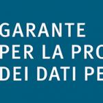 Garante per la protezione dei dati personali – parere n. 436 del 26 ottobre 2017